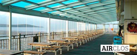 Airclos est une entreprise spécialisée dans les toits et la charpente en aluminium qui a su se développer, en s'adaptant aux besoins du client.