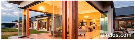 Rideaux de verre et portes et fenêtres coulissantes