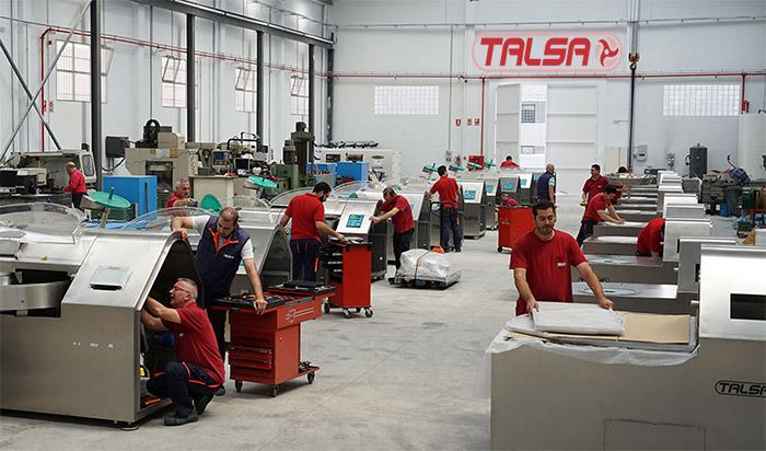 Talsa machines pour l´industrie charcutière