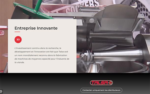 Talsa, entreprise Innovante